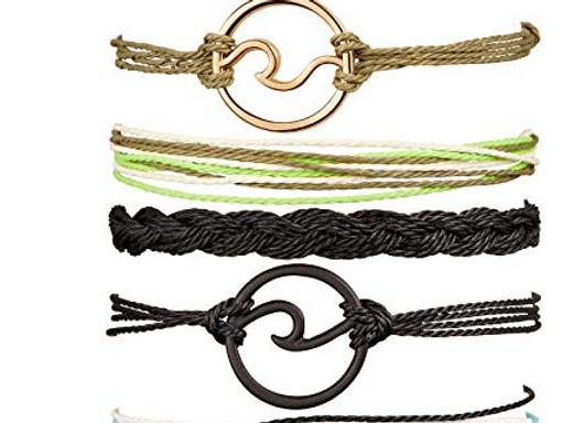 3PCS Boho Sea Wave Bracelet - Colors