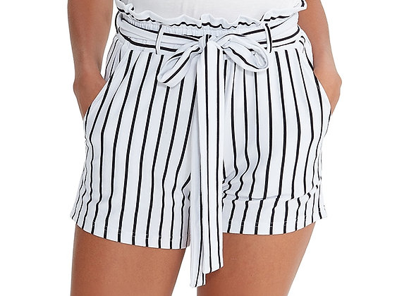 Eco-Friendly Knitted Cotton Spandex Women Casual Shorts