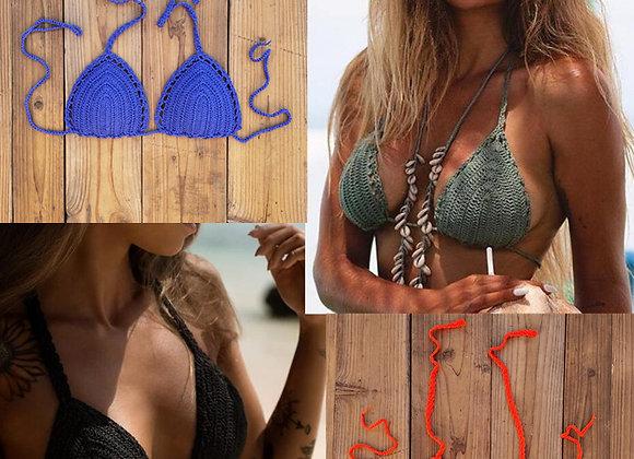 Beach Crochet Bikini Tops