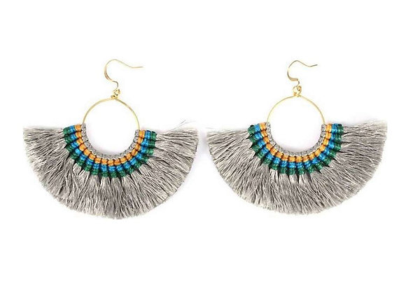 Tassel Fan Earrings