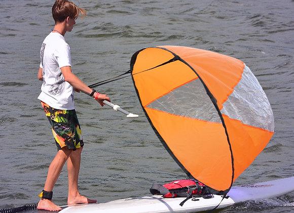 "46"" Big Size Kayak Downwind Wind Sail"