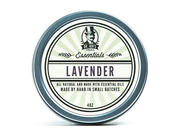 Dr. Jon's Essentials Lavender Shaving Soap