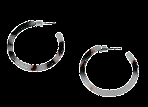 Annie -Black & White Earrings