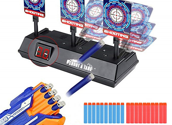 Precision Scoring Auto Reset Electric Target for Nerf Toys
