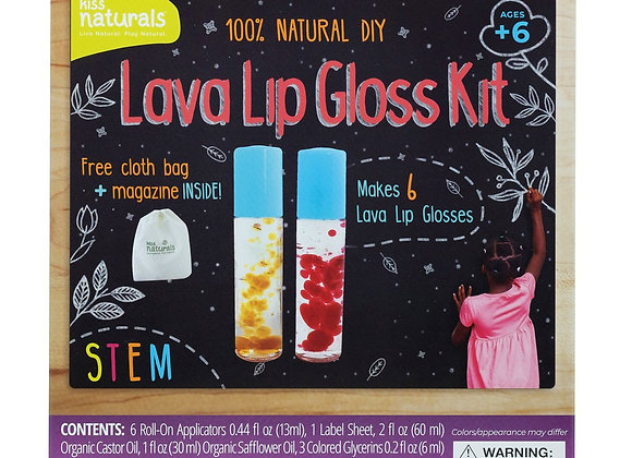 DIY Lava Lip Gloss Kit - Charity Edition U.S.