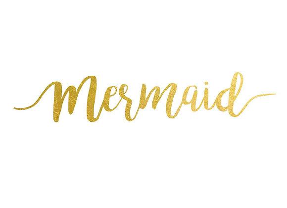 2 PACK Mermaid