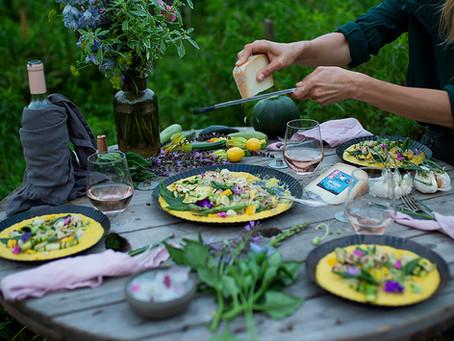 המפגש שלנו עם Berry  Hunting            ומתכון לפולנטה טריה מהערוגה