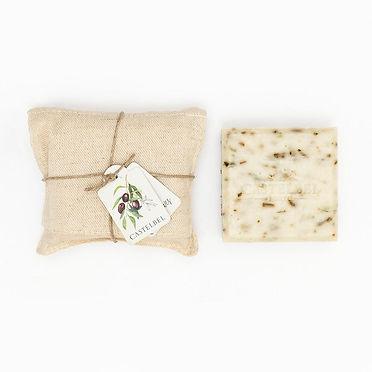 Castelbel סבון שמן זית עטוף בפשתן