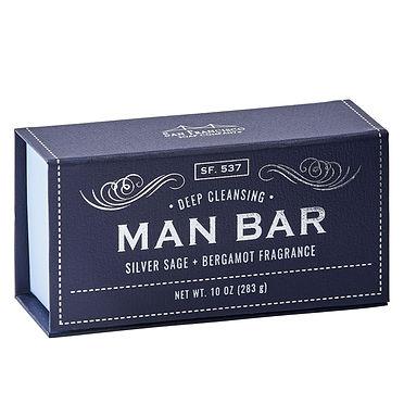 Man bar saop- Silver sage&Bergamont