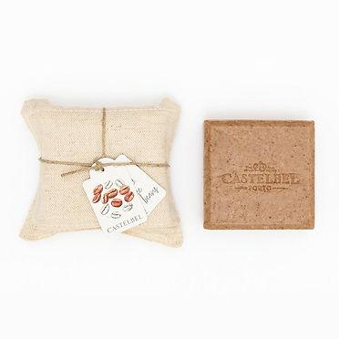 Castelbel סבון פולי קפה עטוף בפשתן