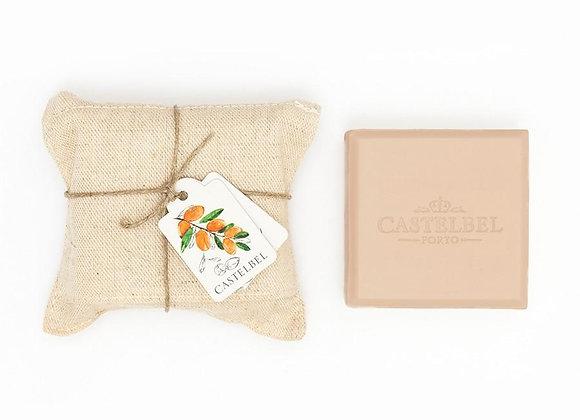 Castelbel סבון וניל עטוף פשתן