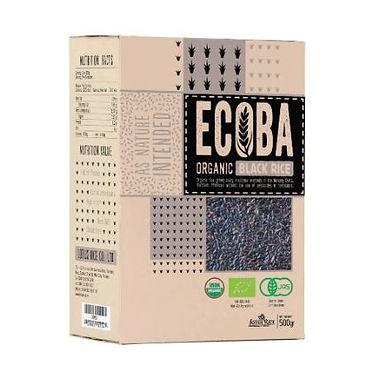 אורז שחור אורגני ECOBA