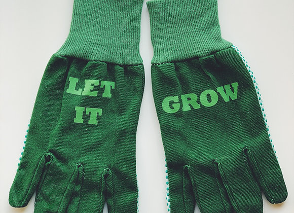 Let it grow gloves