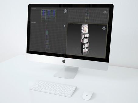 Simulaciones 3D, el primer paso para ver tu expositor