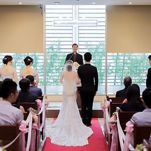 政緯&維欣 和平基督長老教會 台北