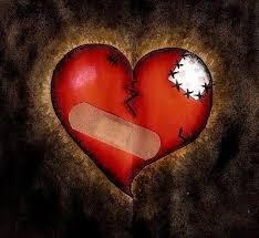 Kærestebrud og benbrud, om heling af traumer
