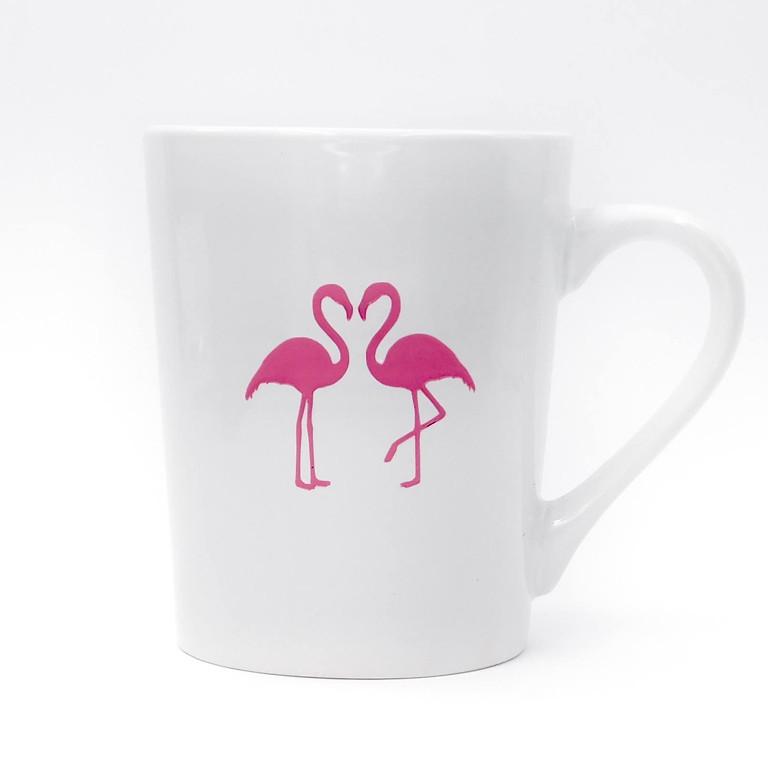 DIY with Seaside - Ceramic Mugs