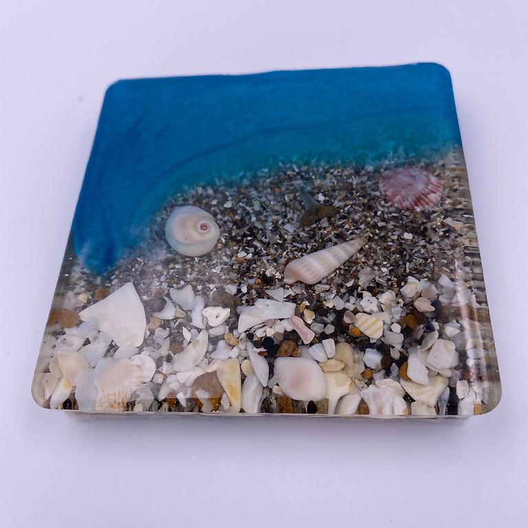 DIY with Seaside - Resin Coasters