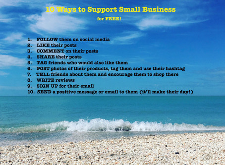10 Ways to Support a Small Business