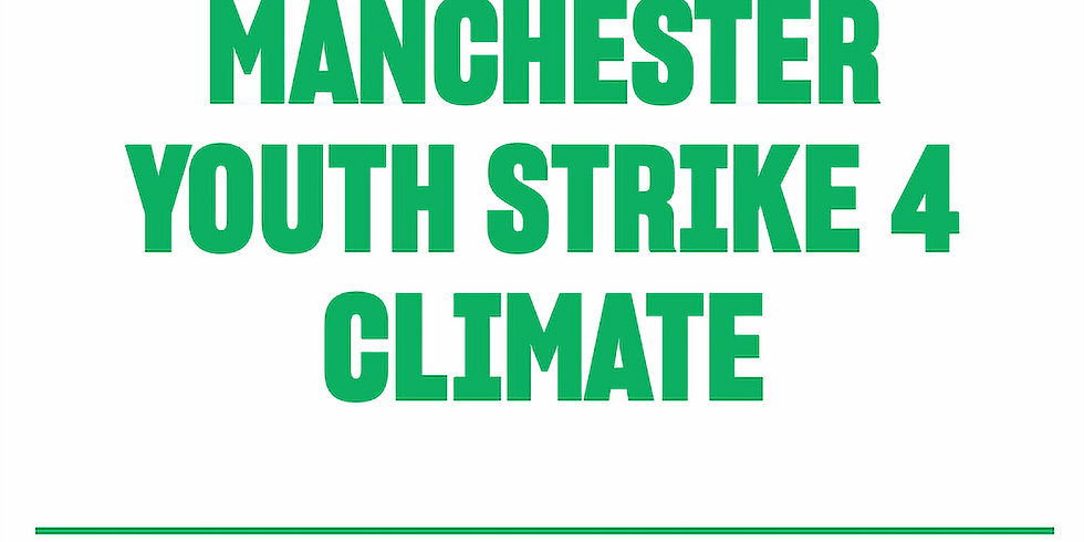 Manchester Climate Strike