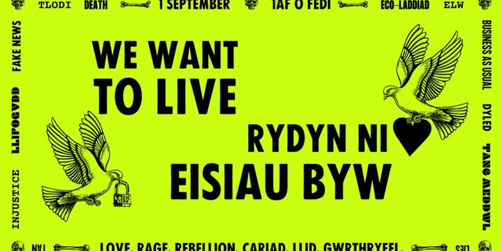 We Want To Live: Wales