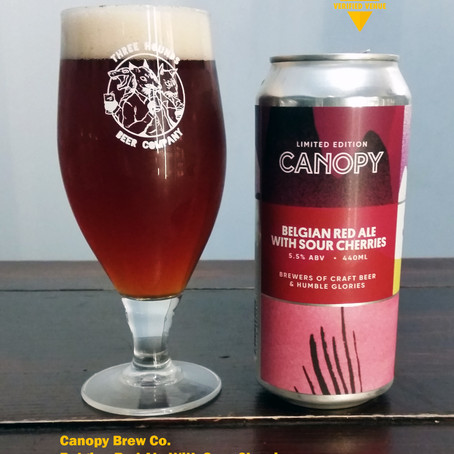 Your Untappd Review - Canopy Beer Co. - Belgian Red Ale With Sour Cherries
