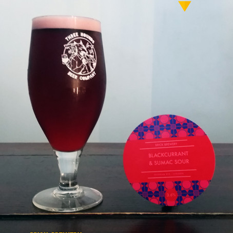 Your Untappd Review - Brick Brewery, Blackcurrant & Sumac Sour