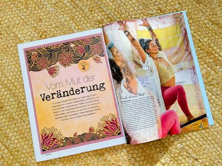 Seelenportraits im Happinez-Magazin 2021.