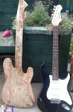 guitar carving