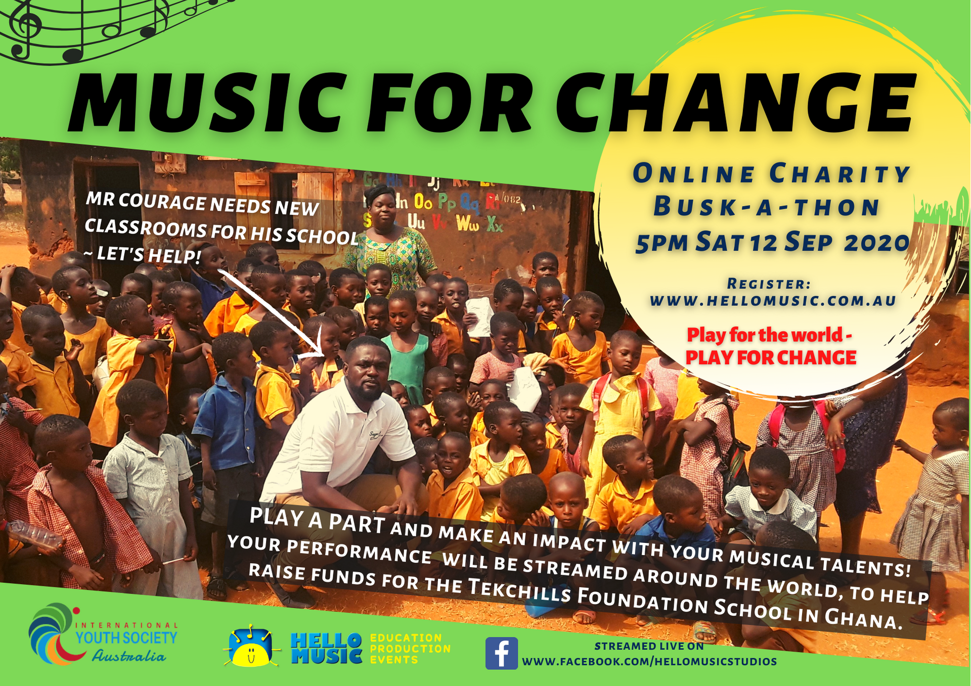 Charity Music Busk-a-thon