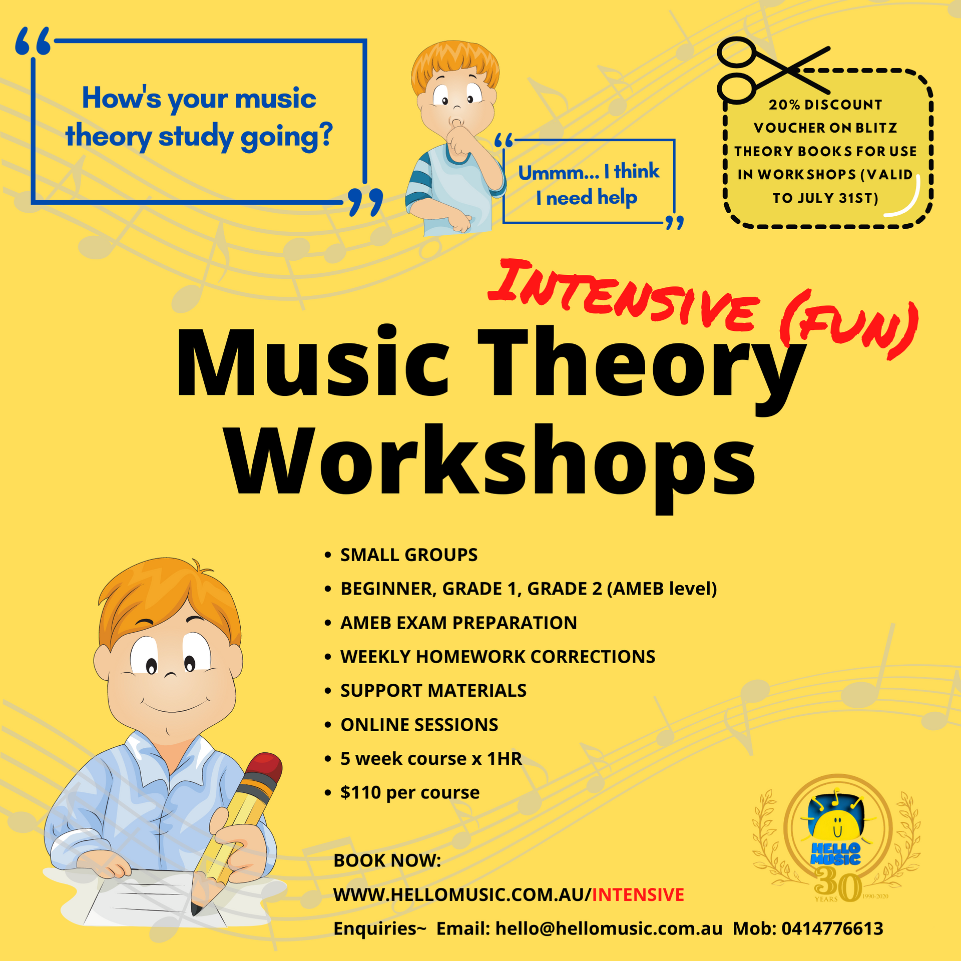 Music Theory Workshops