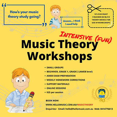 Intensive Theory Workshops