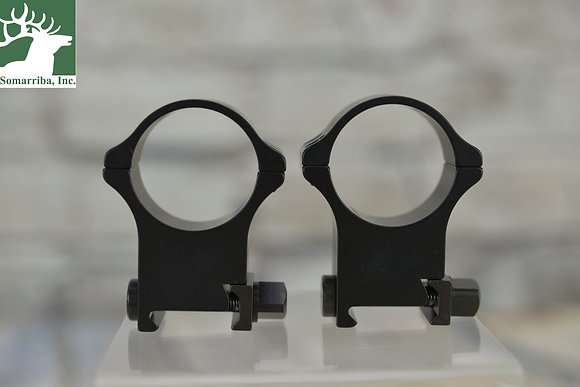 RECKNAGEL ERA TACTICAL SCOPE RINGS WITH TRIANGULAR NUT 34MM 22MM HIGH
