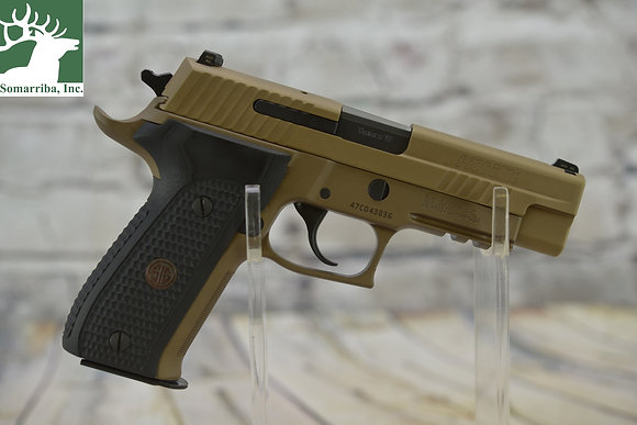 "SIG SAUER PISTOL  P226 EMPEROR SCORPION DA/SA 9MM 4.4"" 15+1 BLK G10"