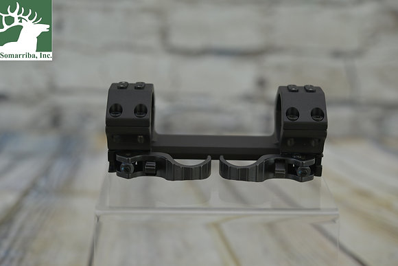 RECKNAGEL ERA TAC MOUNT W/LEVER (1-PIECE) Ø-30MM 10MM HIGH 20 MOA