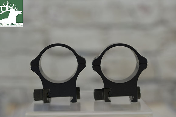 RECKNAGEL ERA TACTICAL SCOPE RINGS WITH TRIANGULAR NUT 34 MM 12MM HIG