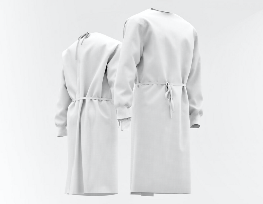 3d Isolation Gown