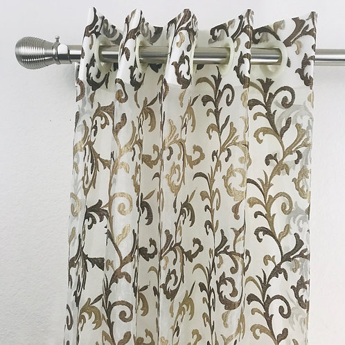 Sheer Embroidery Curtain 2072119 & 2096120