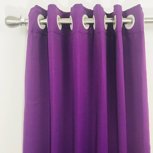 Solid blackout Curtain 2072182 & 2096183