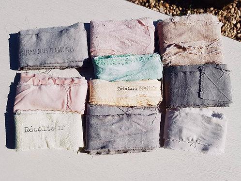 Les rubans teints (autre coloris)