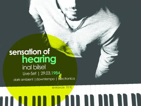 Sensation of hearing!