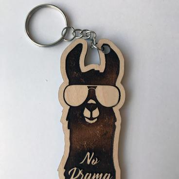 Keychain - No Drama Llama