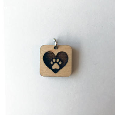 Paw Heart - Square