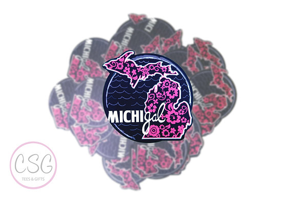 MichiGal Bloom Sticker