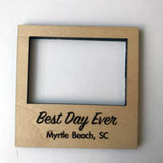 Magnet Photo Frame Small -  Best Day Ever