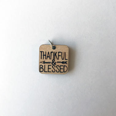 Thankful Blessed - Square