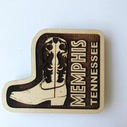 Custom Wooden Magnet Example