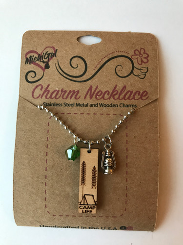 Camp Life Necklace Example