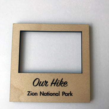 Magnet Photo Frame Small - Our Hike