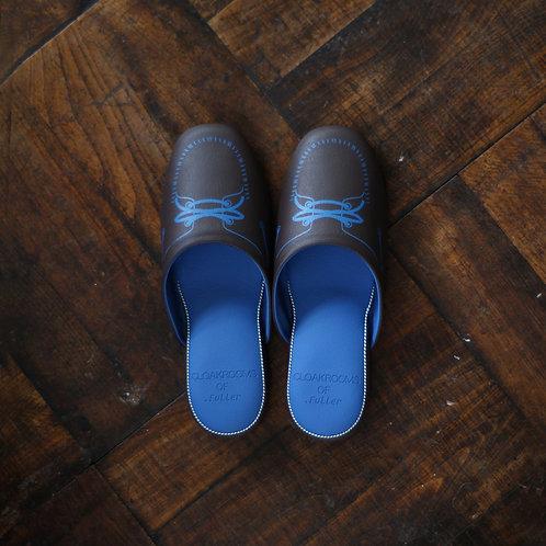 MOCASIN  CHOCO/BLUE